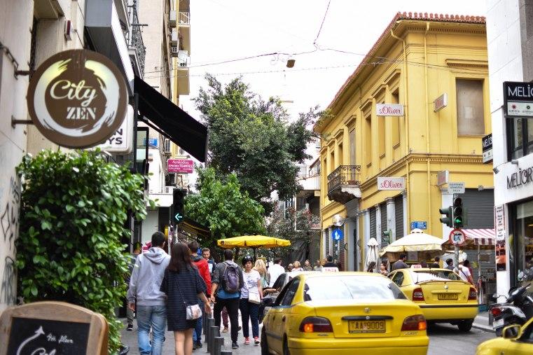 2017-06-11-Greece-Day-5-Athens-streetview-yellow